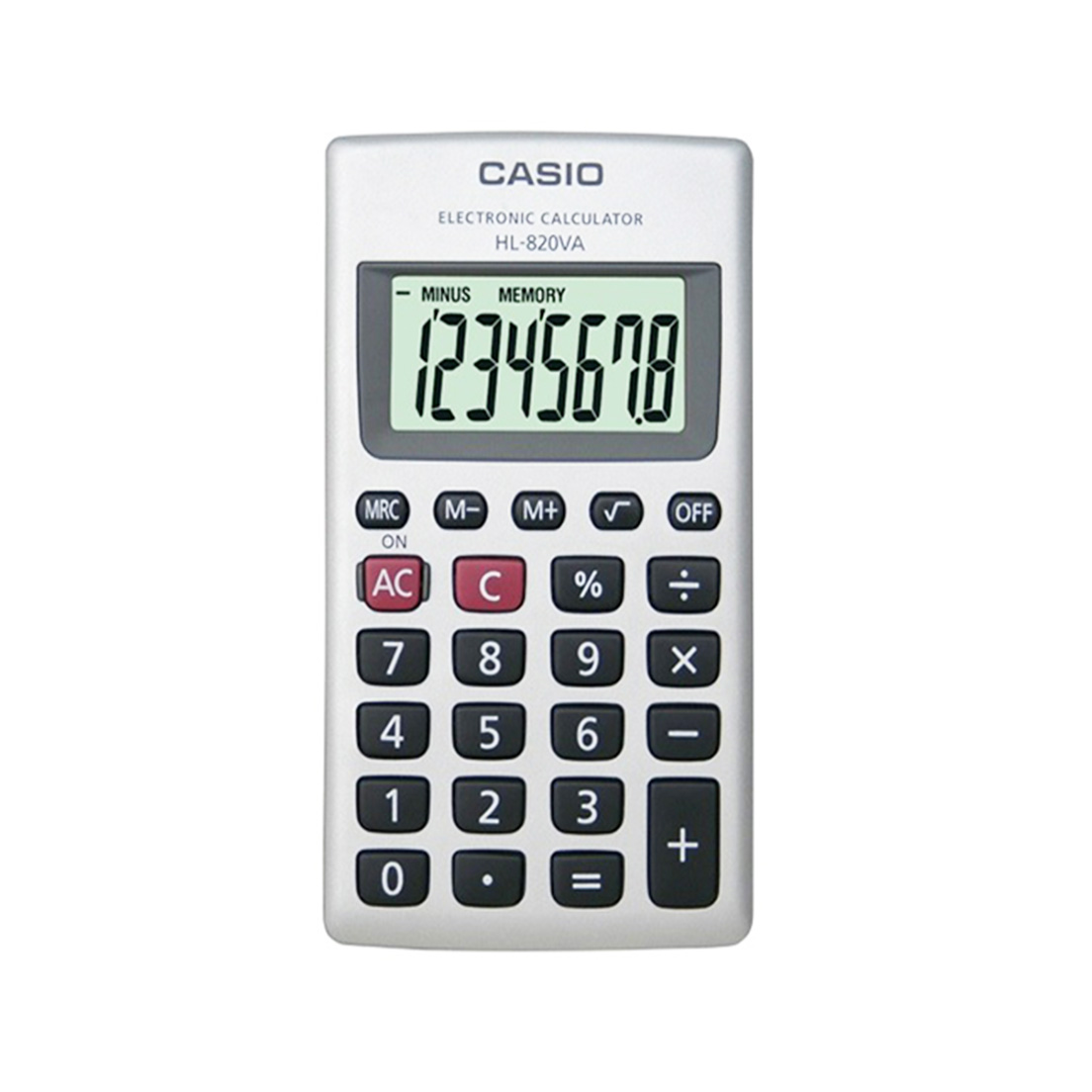 CALCOLATRICE CASIO TASCABILE HL820 1pz