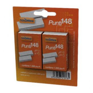 PUNTI CUCITRICE 648 1000pz 2CF IN BLISTER