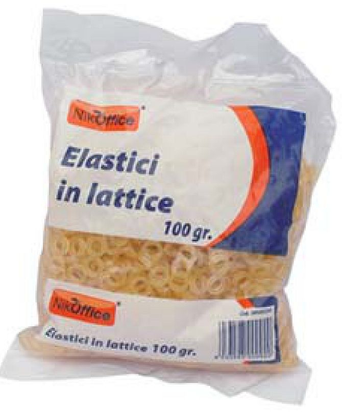 ELASTICI LATTICE IN BUSTA 0,5cm 100g