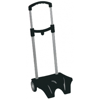 BORSA EASY TROLLEY NERO