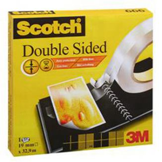 SCOTCH BIADESIVO 12mm x 33mt 3M 1pz - 665
