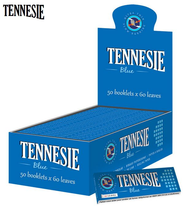 CARTINE TENNESIE CORTA 50pz BLU - C40