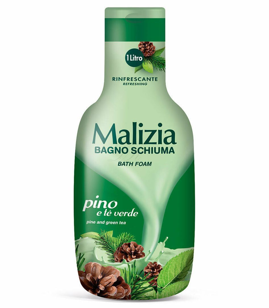 BAGNOSCHIUMA MALIZIA LATTE  1000ml  1pz - C12