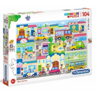 GIOCHI PUZZLE 104pz IN THE CITY