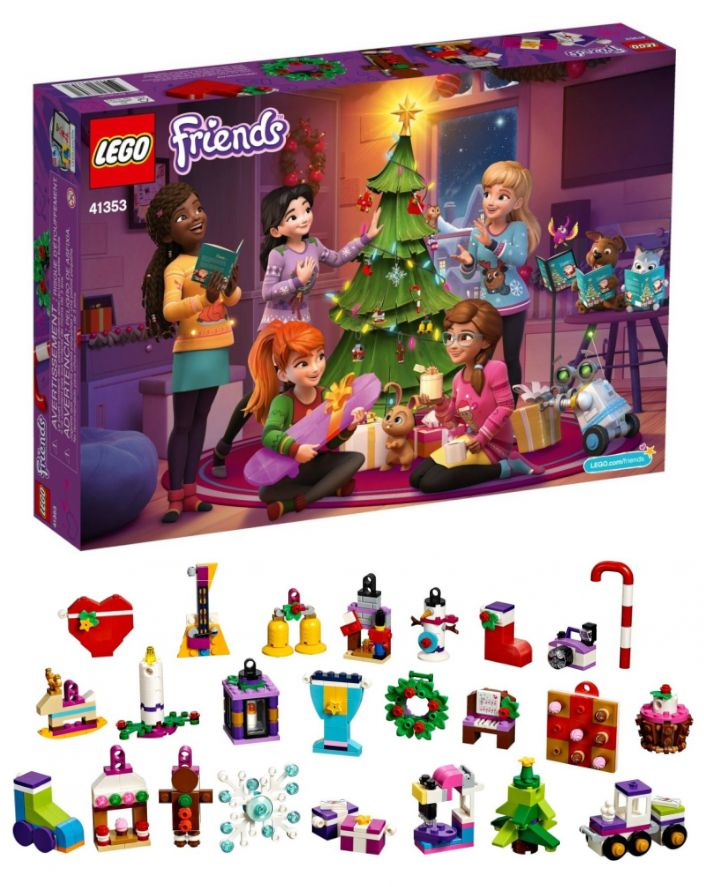 GIOCHI LEGO CALENDARIO AVVENTO  FRIENDS