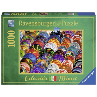 GIOCHI PUZZLE 1000pz COLORFUL PLATES
