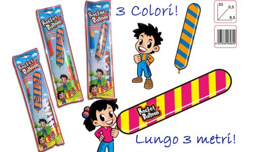 GIOCHI ROCKET BALLOON 1pz
