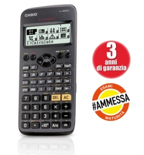 CALCOLATRICE CASIO SCIENTIFICA FX350MS 85x155x12mm 240 FUNZIONI 1pz 12 CIFRE