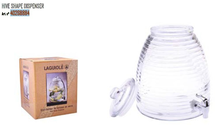 LAGUIOLE HIVE SHAPE DISPENSER 1pz - (LG2019)