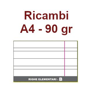 RICAMBI 21X29 A4      RB  90gr