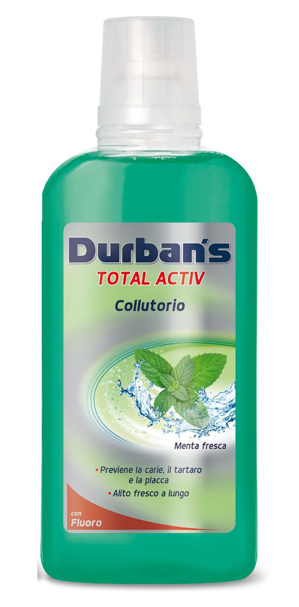 COLLUTTORIO DURBANS MENTA 500ml 1pz VERDE