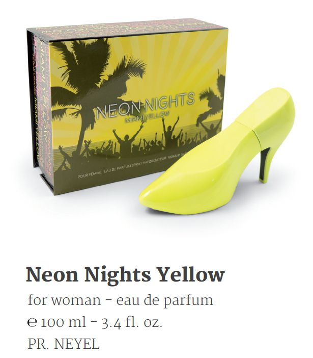 PROFUMO SCARPA NEON NIGHTS YELLOW 100ml