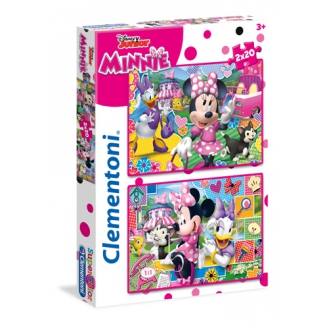 GIOCHI PUZZLE 2X20pz MINNIE HAPPY HELPERS