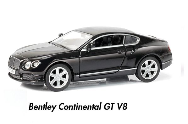 GIOCHI AUTO 1:32 RMZ CITY 1pz 12cm - BENTLEY CONTINENTAL GT V8