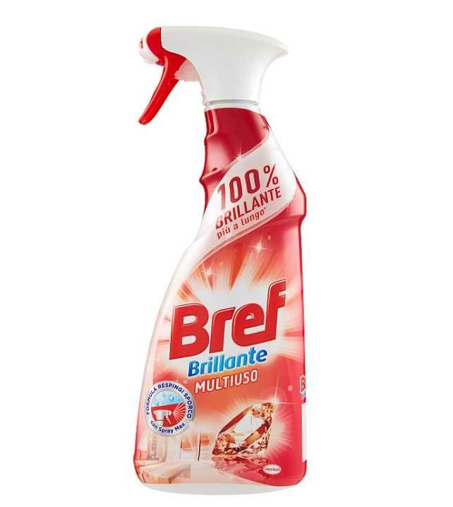 DETERGENTI BREF SPRAY ROSSO 1pz 750ml MULTIUSO BRILLANTE
